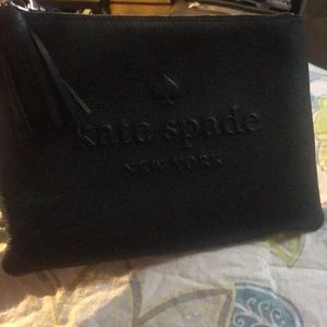 kate spade Bags - Authentic xtra large Kate spade clutch